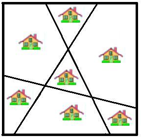 Sieben Häuser Rätsel - Lustigestories.de